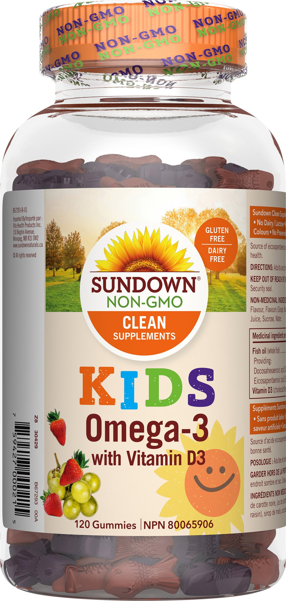 Omega-3 with Vitamin D3 Gummies