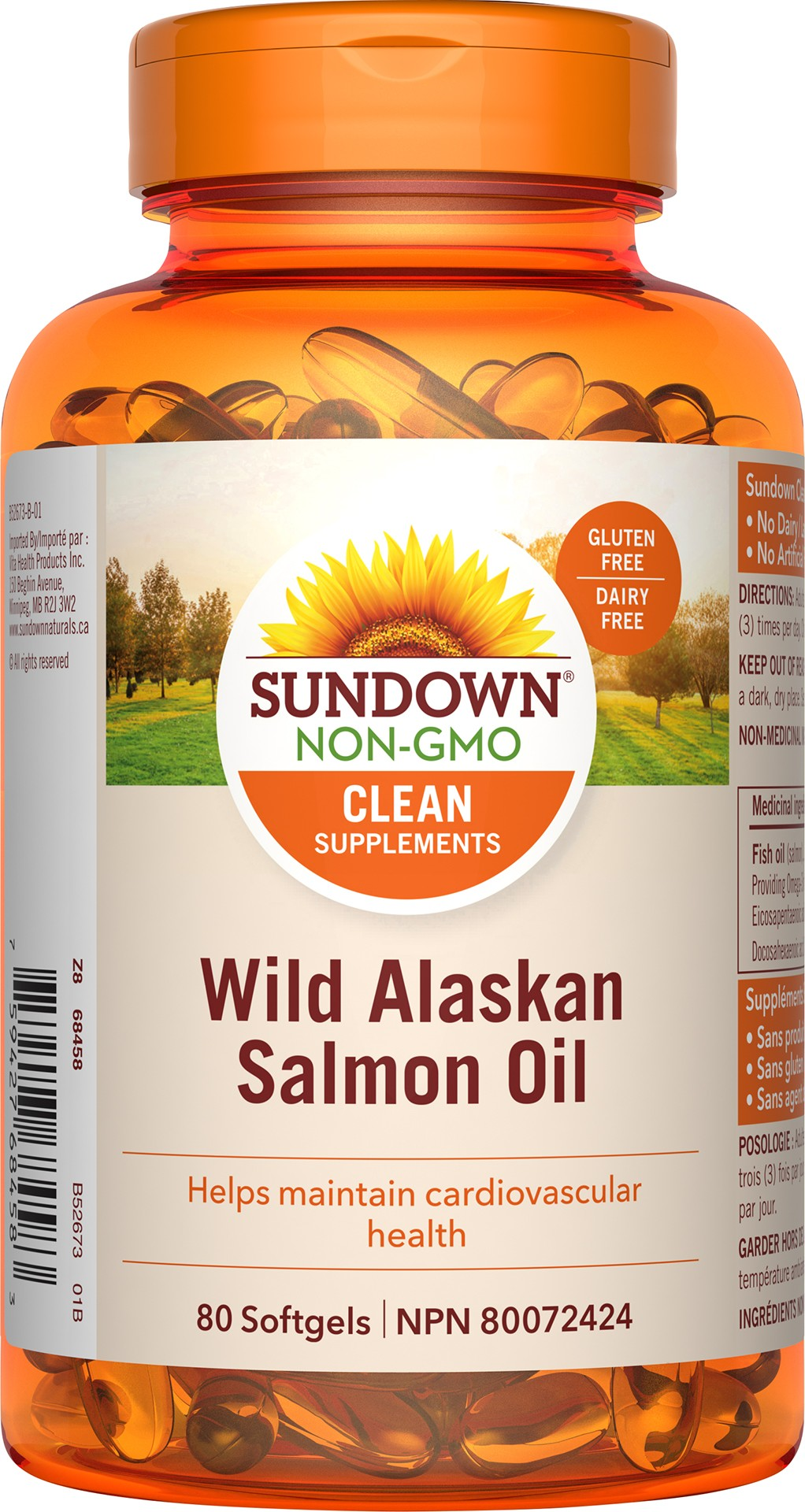 Wild Alaskan Salmon Oil 1500 MG
